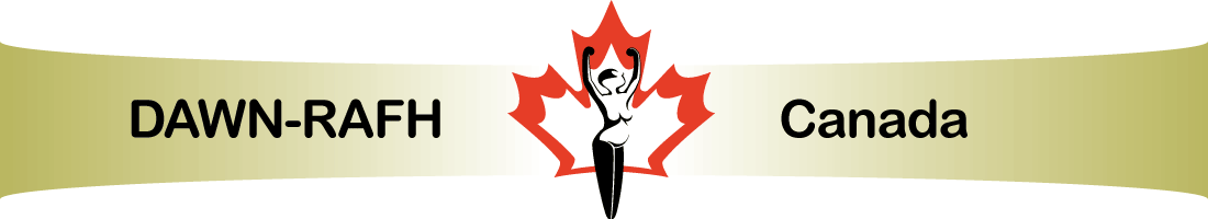 DAWN Canada logo, go to home page.
